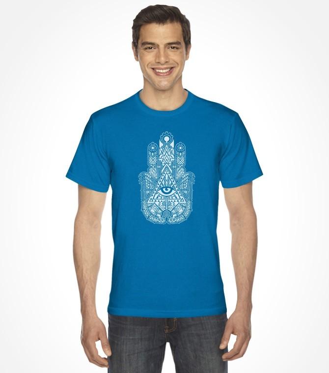 Lucky Hamsa Hand Shirt