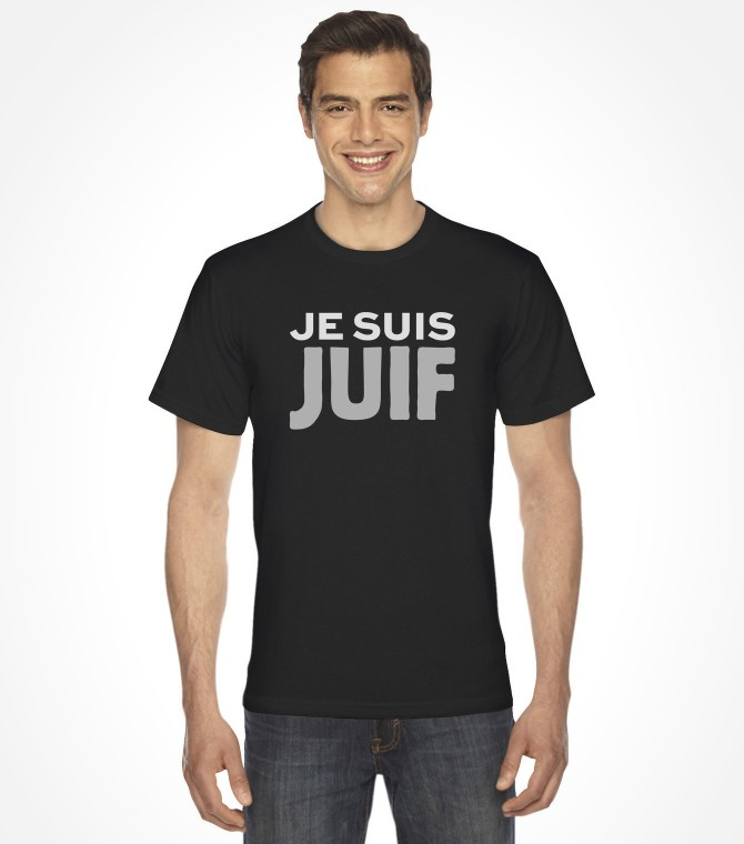 Je Suis Juif Jewish Shirt