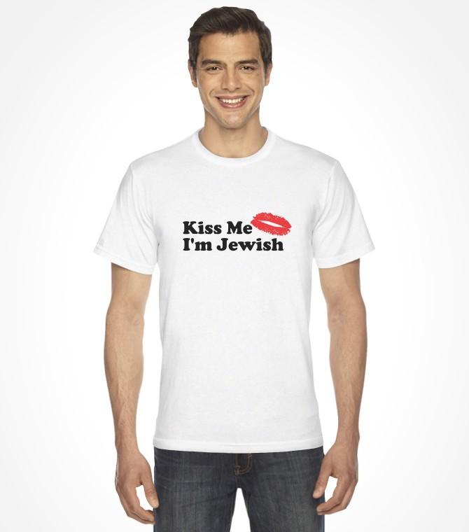 Kiss Me I'm Jewish Shirt