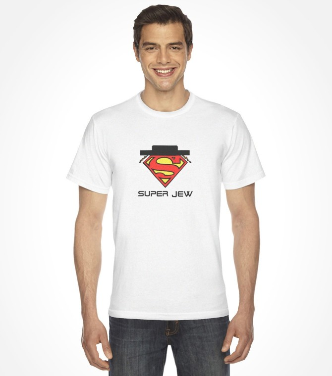 Super Jew Funny Jewish Hassid Shirt