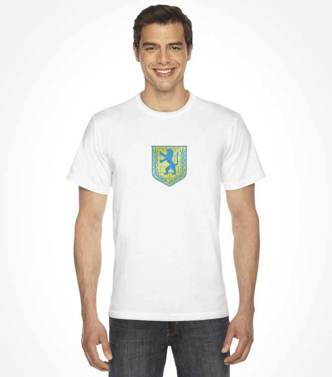Jerusalem Lion of Judah Vintage Israel Crest Design Shirt