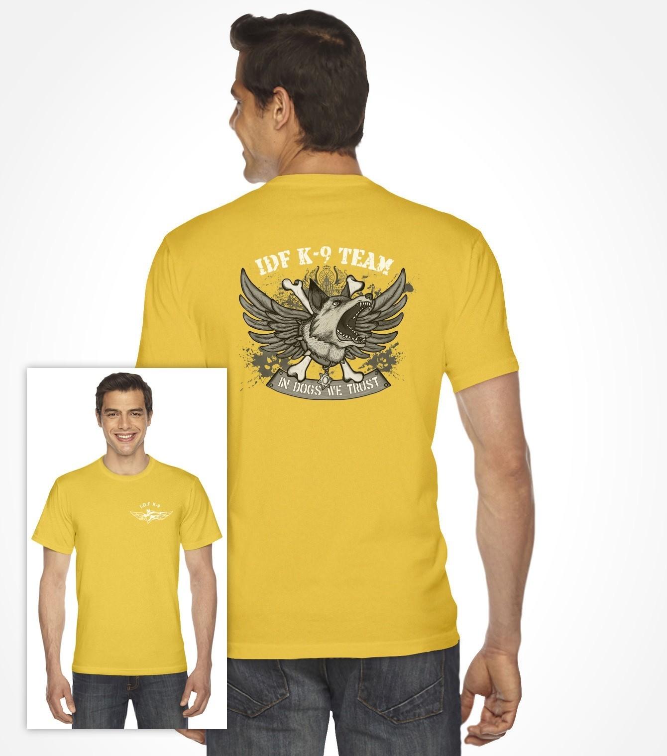 Idf Dog Team K 9 Special Forces Shirt Israeli T