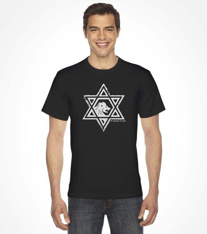 Lion of Judah Star of David Shirt
