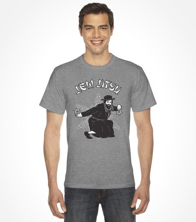 Jew Jitsu Funny Jewish Shirt