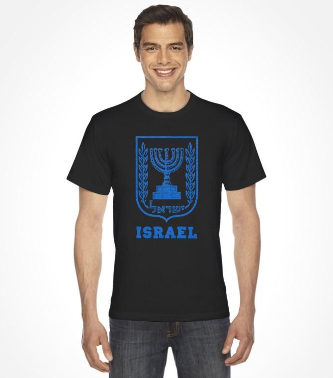 """Menorah"" Vintage Israel Shirt"