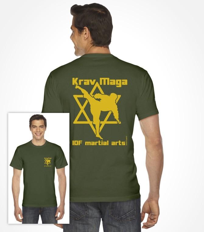 IDF Martial Arts - Star of David Krav Maga Shirt