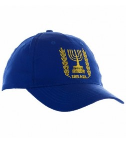 Israel Menorah Cap