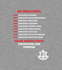 IDF Operations - Israel Defense Force Shirt