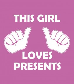 """This Girl Loves Presents"" Funny Jewish Hanukkah Shirt"