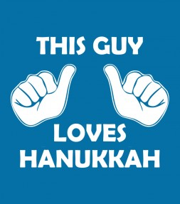 This Guy Loves Hanukkah Funny Jewish Shirt