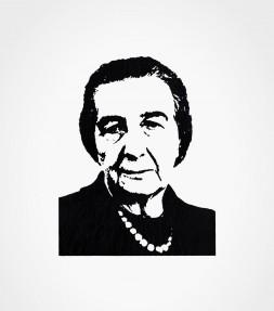 Golda Meir Iconic Israel Shirt