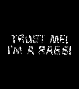 "Funny Jewish Saying - ""Trust Me I'm a Rabbi"" Israel Shirt"