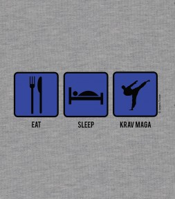 Eat - Sleep and Fight Krav Maga Shirt