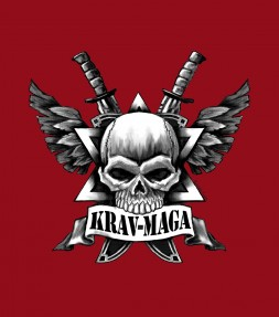 Ultimate Krav Maga Skull and Cross Swords Shirt
