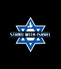 Star of David Stand with Israel Shirt