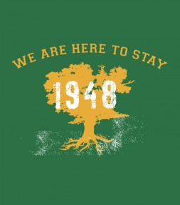 We Are Here to Stay - 1948 Israel Support Shirt
