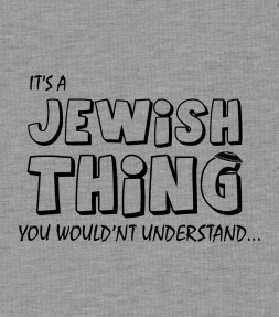 """It's A Jewish Thing..."" Funny Israel Shirt"