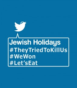 Funny Jewish Holiday Hashtags Shirt