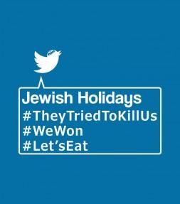 Funny Jewish Holiday Hashtags Shirt