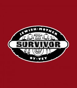 """Oy Vey"" Jewish Mother Survivor Funny Israel Shirt"