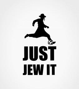 Just Jew It Soccer Shirt