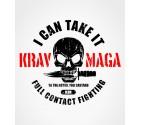 Krav Maga Skull Logo - Full Contact Fighting Shirt