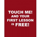 """""""Your First Lesson is Free"""" Krav Maga Shirt"""