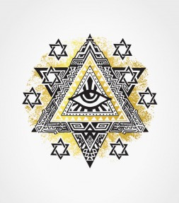 Star of David Evil Eye Shirt
