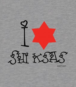 I Love Shiksas Funny Jewish Shirt