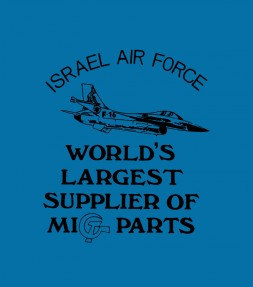 The Crasher - Israel Air Force Shirt