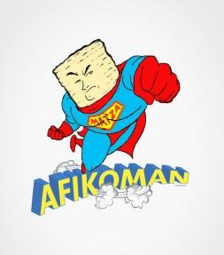 """Afikoman"" Action Hero for Passover  - Funny Jewish Shirt"