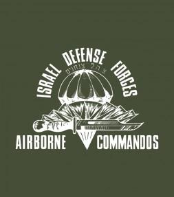 """""""Airborne Commandos"""" Authentic IDF Shirt"""
