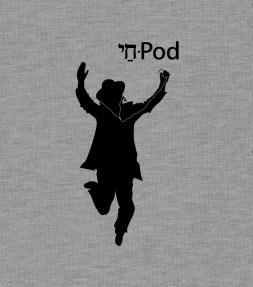 """Chai-Pod"" Funny Jewish Hebrew Shirt"