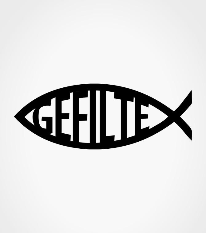 Gefilte fish funny jewish shirt israeli t for Jewish gefilte fish
