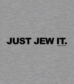 Just Jew It - Funny Jewish Shirt