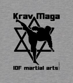 Krav Maga and Star of David - IDF Martial Arts Shirt