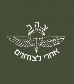 """Follow Me to the Airborne"" Vintage Israel IDF Shirt"