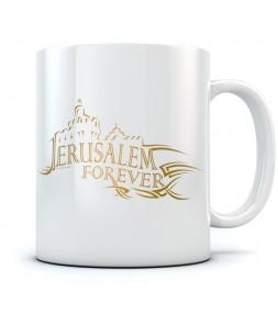 Jerusalem Forever Israel Coffee Mug