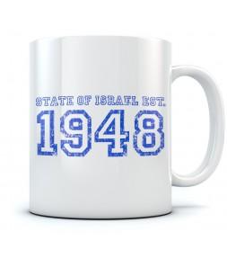 1948 State of Israel Coffee Mug