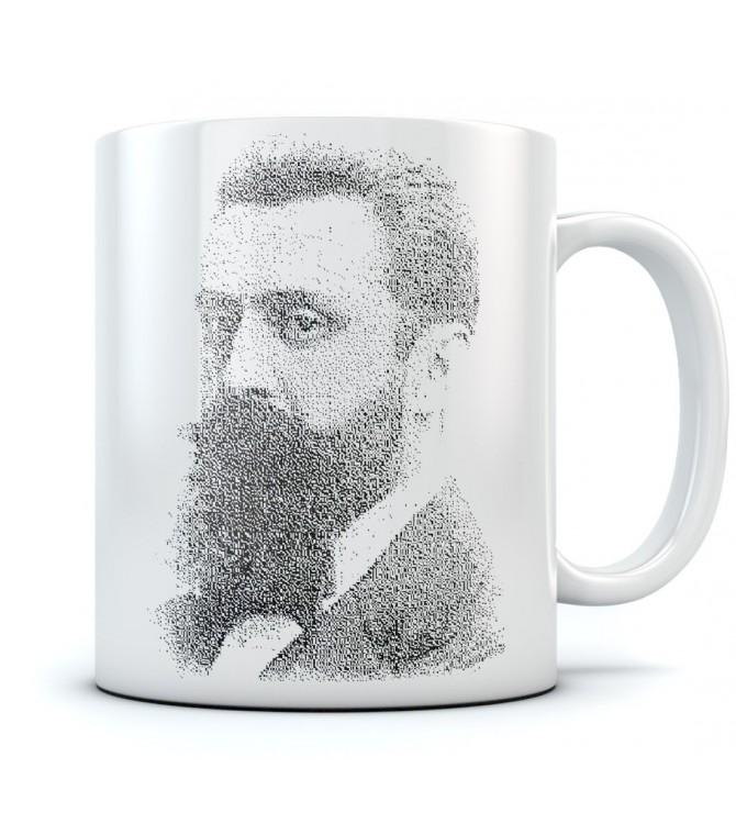 Theodor Herzl - Vintage Israel Coffee Mug