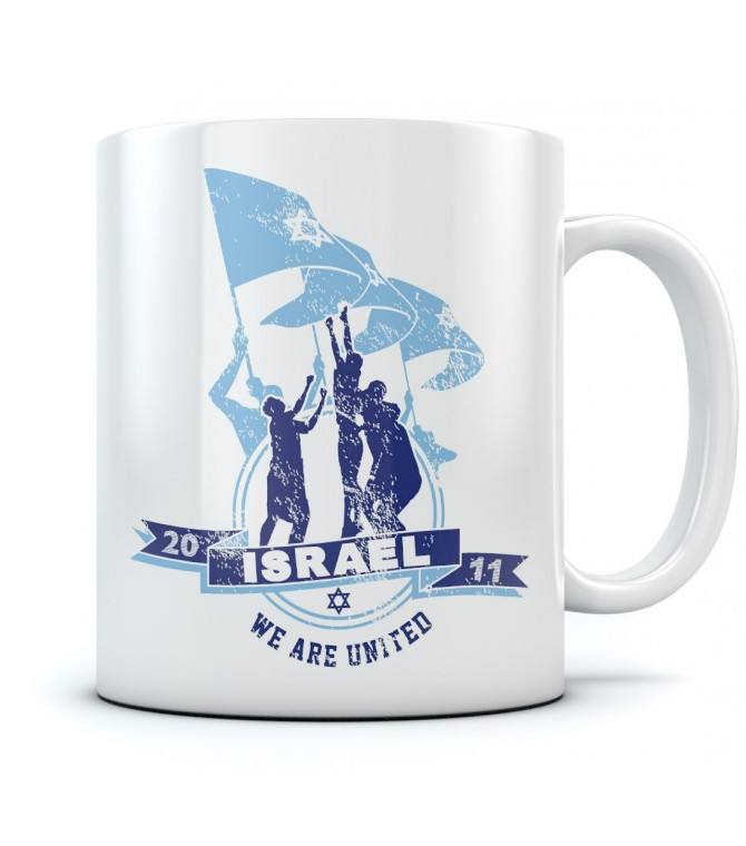We Are United - Israel Support Coffee Cup