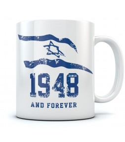 1948 and Forever Israel Support Coffee Mug