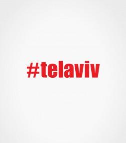 telaviv Hashtag Shirt