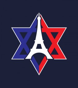Israel Stands Together with France Against Terror Shirt