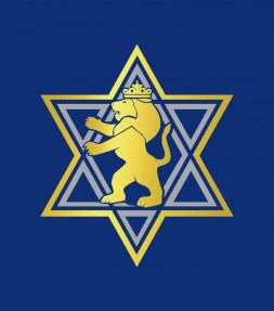 Lion of Judah with Star of David Israel Shirt