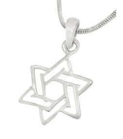Star of David Jewish Pendant Necklace