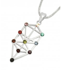 Tree of Life Jewish Kabbalah Pendant Necklace
