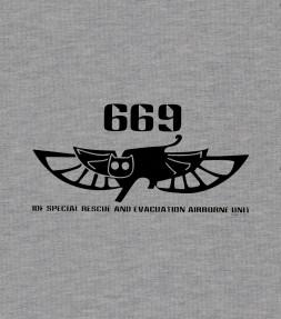 Unit 669 Elite IDF Airborne Rescue Shirt
