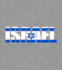 Israel Flag Crest Pocket Shirt