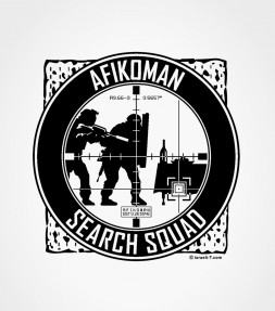 Afikoman Search Squad Jewish Passover Shirt